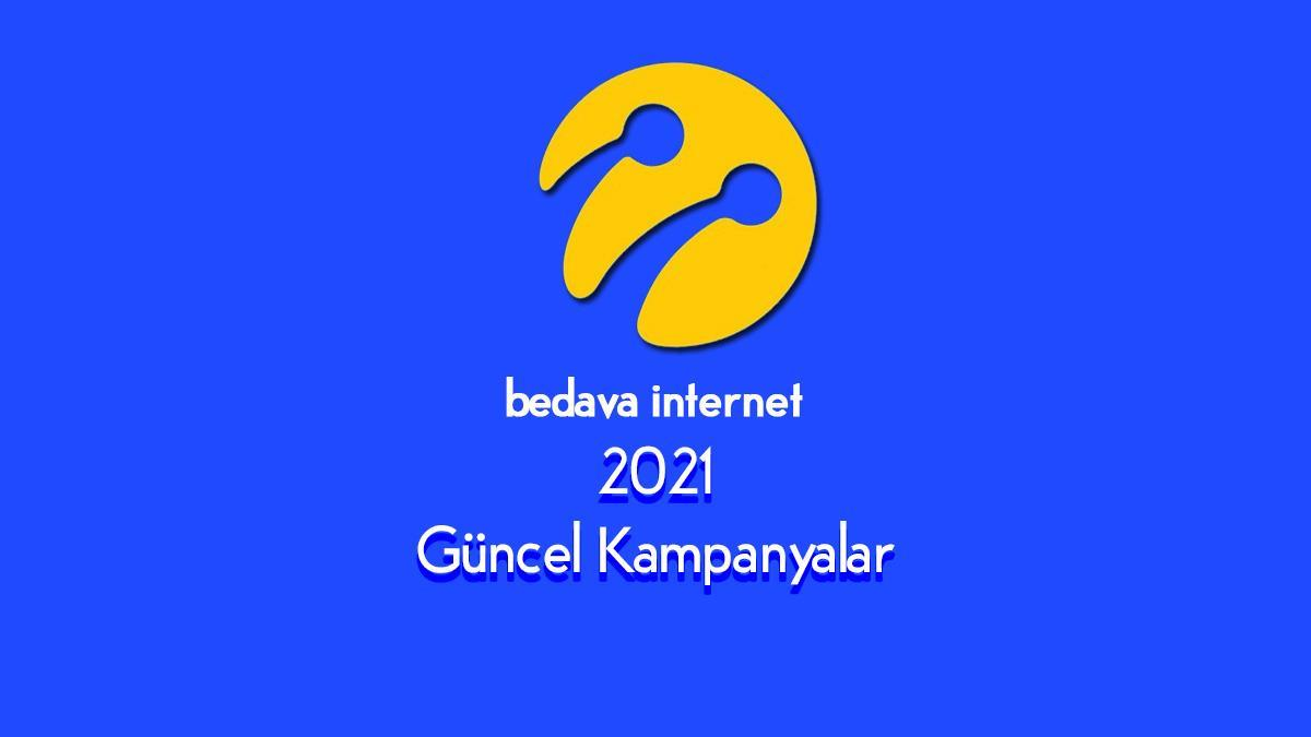 Turkcell Bedava Internet Kampanyaları 2021